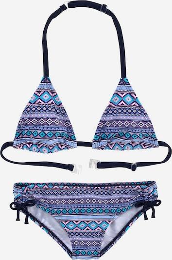 s.Oliver Triangel-Bikini in blau / lila: Frontalansicht