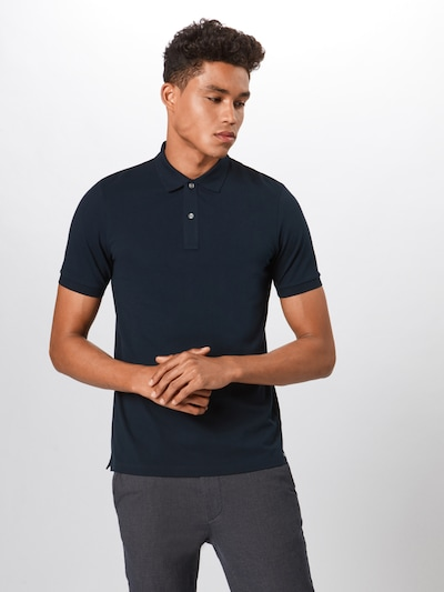 OLYMP Shirt 'Level 5 Casual Polo Cotton' in marine, Produktansicht