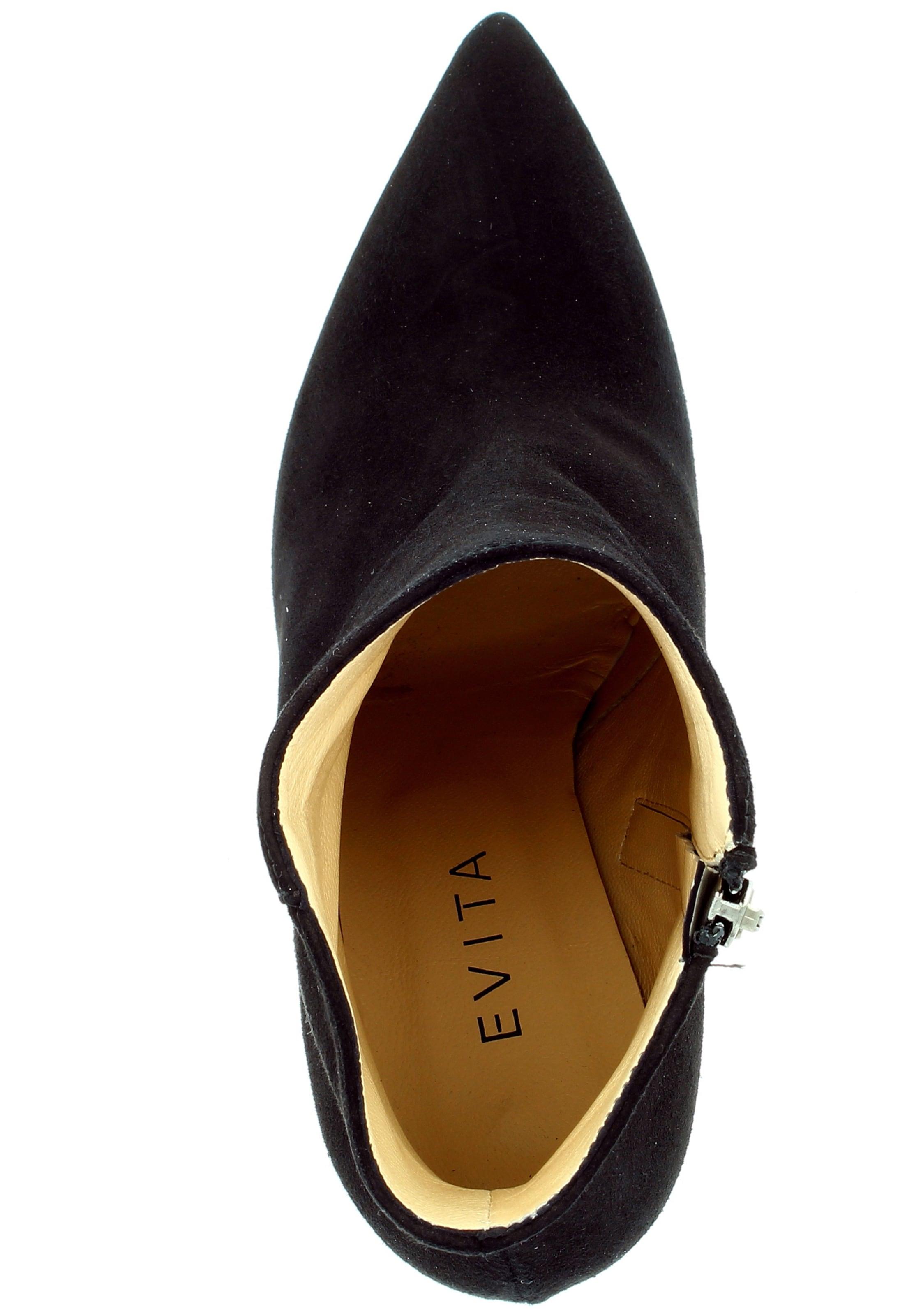 En Evita Bottines Noir Bottines Noir Evita En Nnm80Ovw