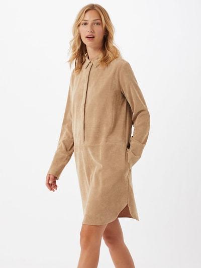OPUS Kleid 'Wes' in camel, Modelansicht
