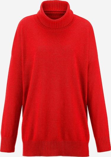 Peter Hahn Pullover in rot, Produktansicht