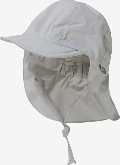 STERNTALER Schirmmütze zum Binden mit Nacken- und UV-Schutz 50+ in beige / creme: Frontalansicht