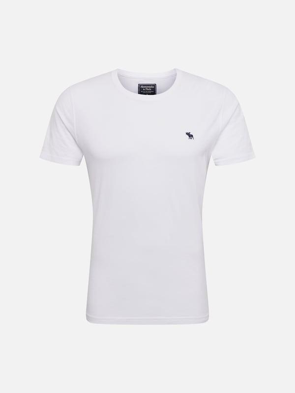 9955962a33 Abercrombie & Fitch Póló 'GLBL CREW MULTIPACK' fehér színben | ABOUT YOU