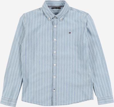 TOMMY HILFIGER Hemd 'DENIM STRIPE SHIRT L/S' in blue denim, Produktansicht