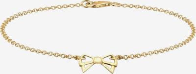 ELLI Armband 'Schleife' in gold, Produktansicht