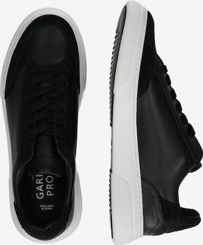 Garment Project Baskets basses 'Off Court' en noir / blanc: Vue de profil