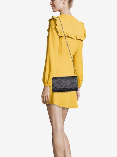 mascara Pisemska torbica 'ENVELOPE FOLD' | črna barva, Prikaz modela