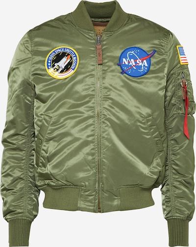 ALPHA INDUSTRIES Tussenjas 'MA-1 VF NASA' in de kleur Olijfgroen, Productweergave