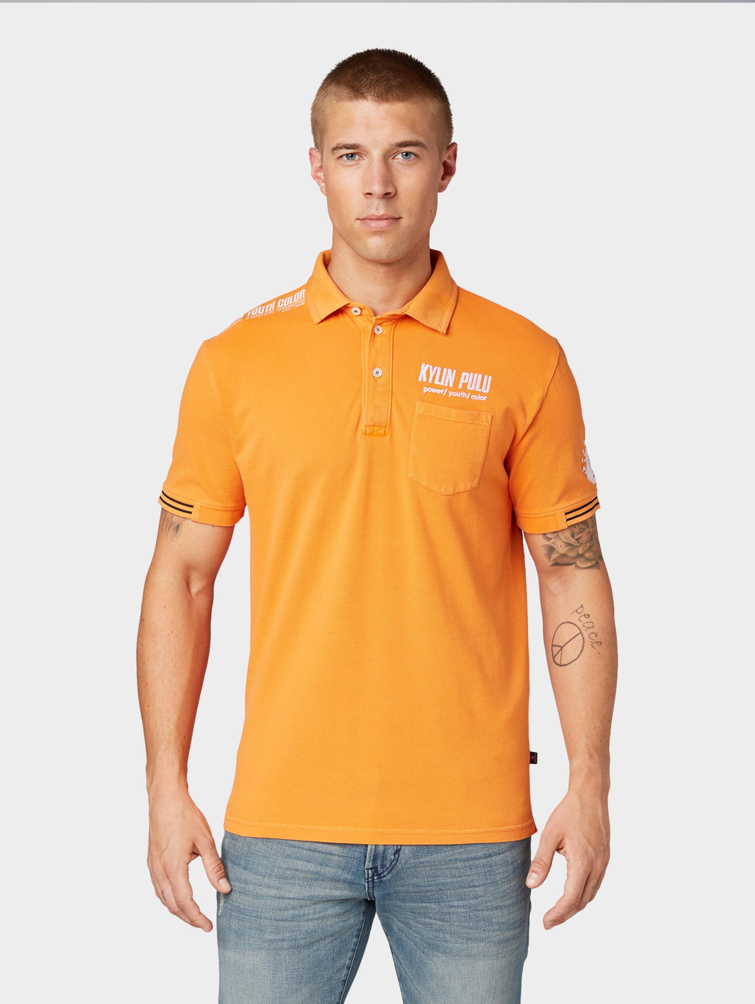 Tailor HellorangeWeiß Poloshirt In Tom 'kylin' 45RLA3j