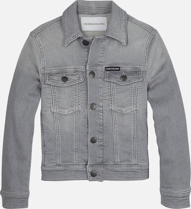 Calvin Klein Jacke in grey denim, Produktansicht