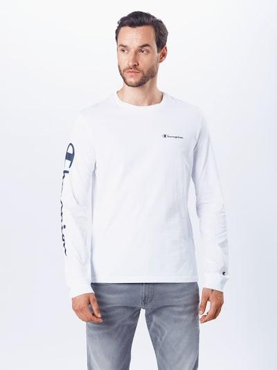 Champion Authentic Athletic Apparel Majica | mornarska / bela barva: Frontalni pogled