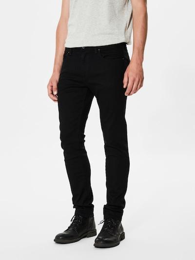 SELECTED HOMME Jeans in schwarz, Modelansicht