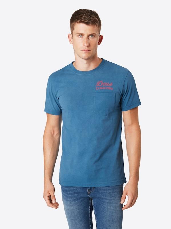 Deus 'sunbleached' Ex Machina shirt Bleu ClairRose T En vm80wNn