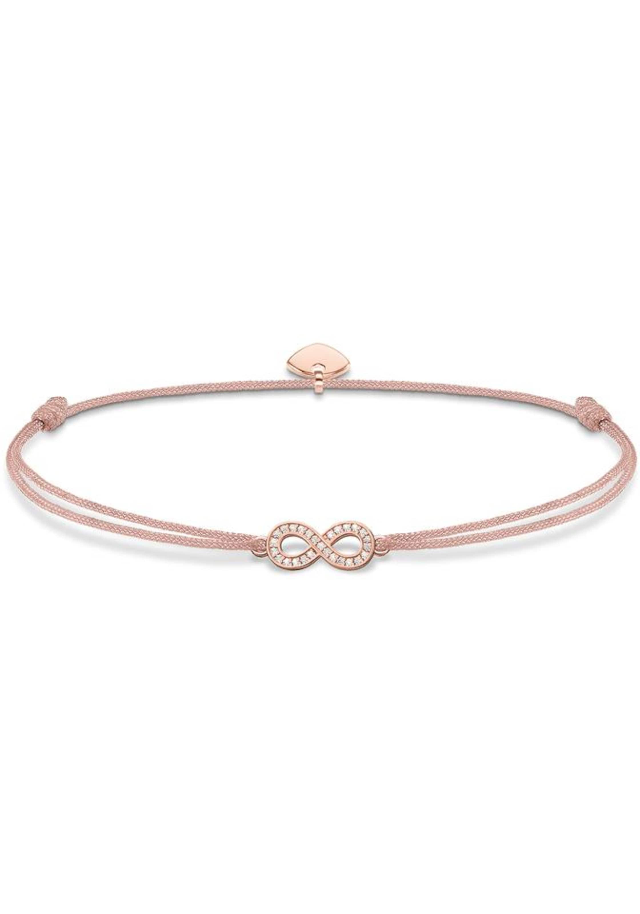 Infinity' BeigeRosegold Sabo Armband Secret 'little In Weiß Thomas BexdoCWr
