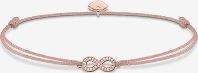Thomas Sabo Armband 'Little Secret Infinity' in beige / rosegold / weiß, Produktansicht