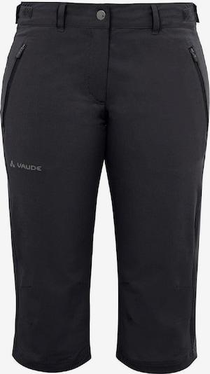 VAUDE Shorts 'Farley Stretch Capri II' in schwarz, Produktansicht
