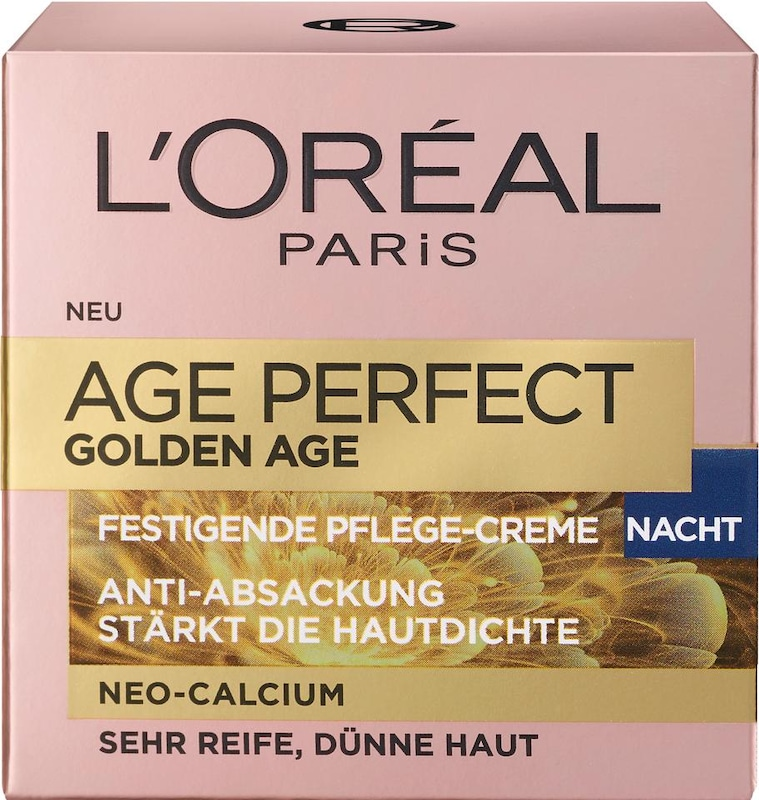 Loreal Paris Age Perfectly Golden Age Nachtpflege, Gesichtspflege