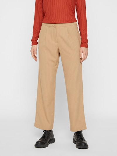 PIECES Hose in beige, Modelansicht