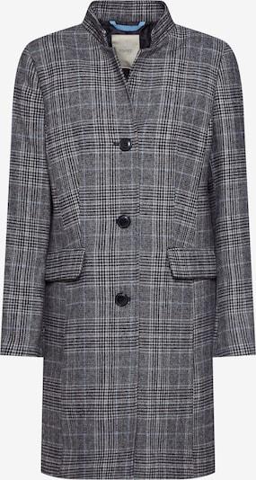 ESPRIT Jacke in anthrazit / schwarz / weiß, Produktansicht