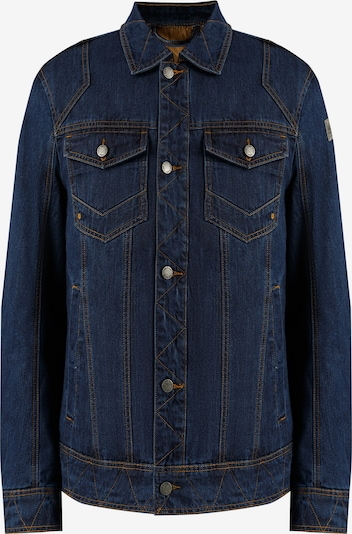 Finn Flare Jeansjacke in klassischem Design in blau, Produktansicht
