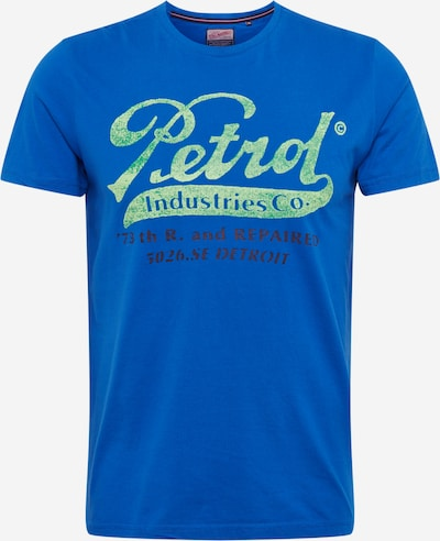 Petrol Industries Shirt in de kleur Royal blue/koningsblauw, Productweergave