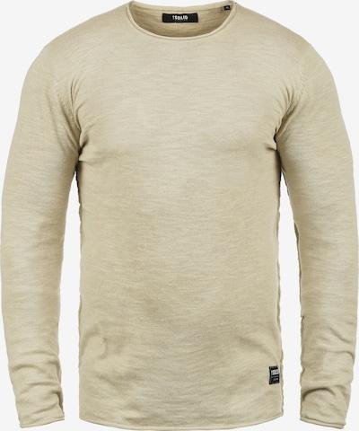 !Solid Rundhalspullover 'Krimmich' in beige: Frontalansicht