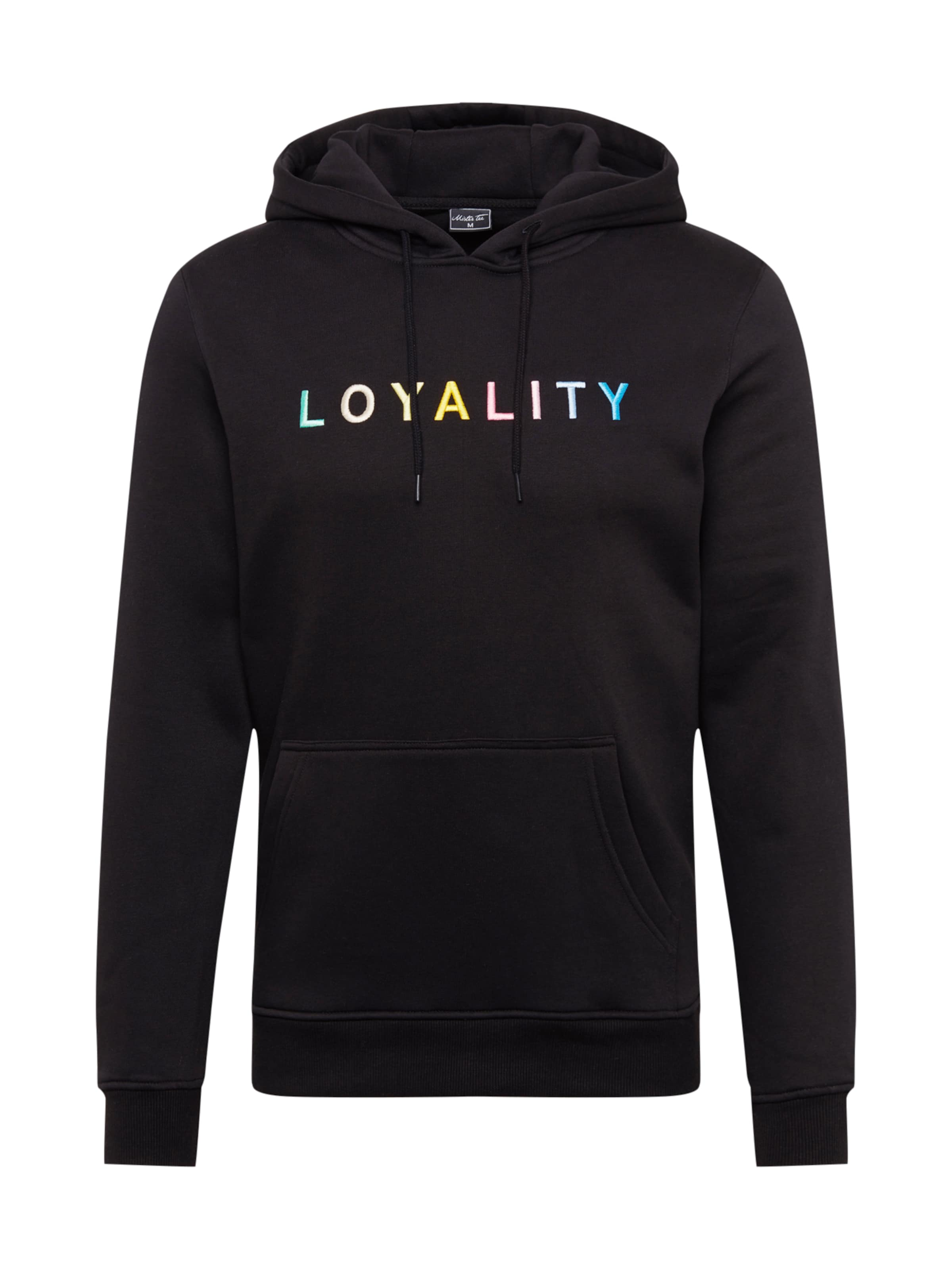 Sweat Noir shirt En Mister Tee 'loyality' fn5x7XFq