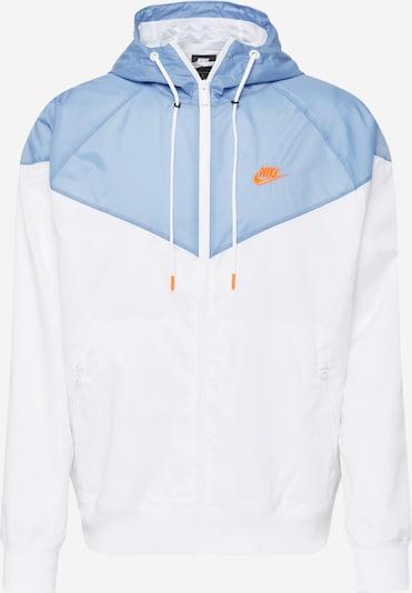 világoskék / fehér Nike Sportswear Átmeneti dzseki, Termék nézet