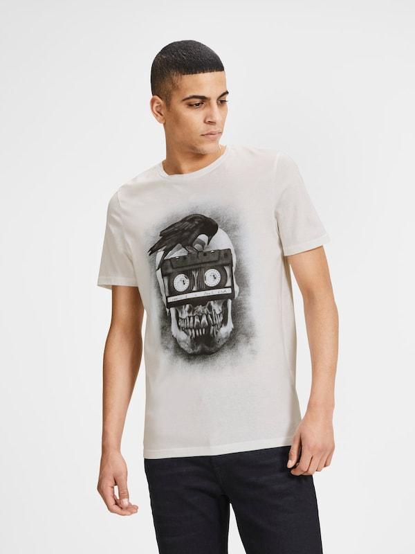 JACK & JONES Rock 'n' Roll Print T-Shirt