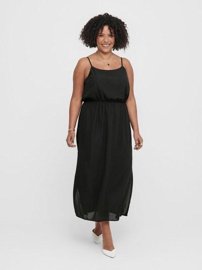 ONLY Carmakoma Kleid in schwarz: Frontalansicht