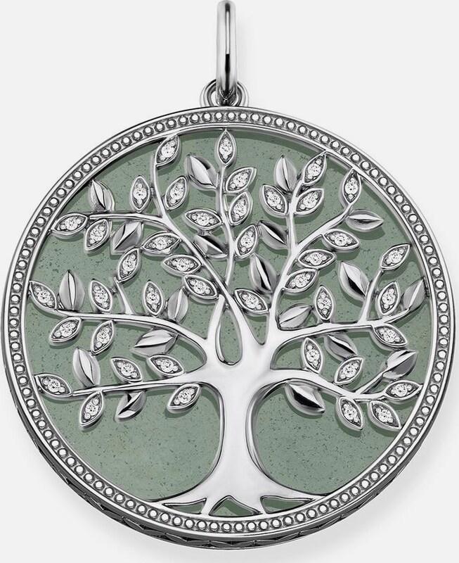 Thomas Sabo Kettenanhänger 'Grüner Tree of Love, PE760-909-6'
