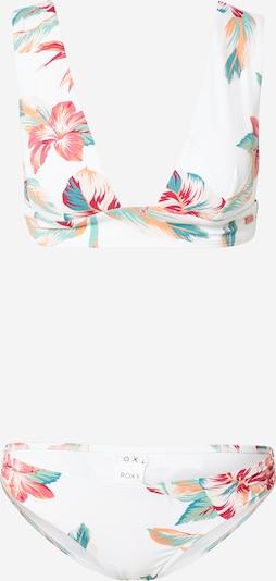 ROXY Bikini 'LHA BAY SH RG B J' in de kleur Gemengde kleuren / Wit, Productweergave