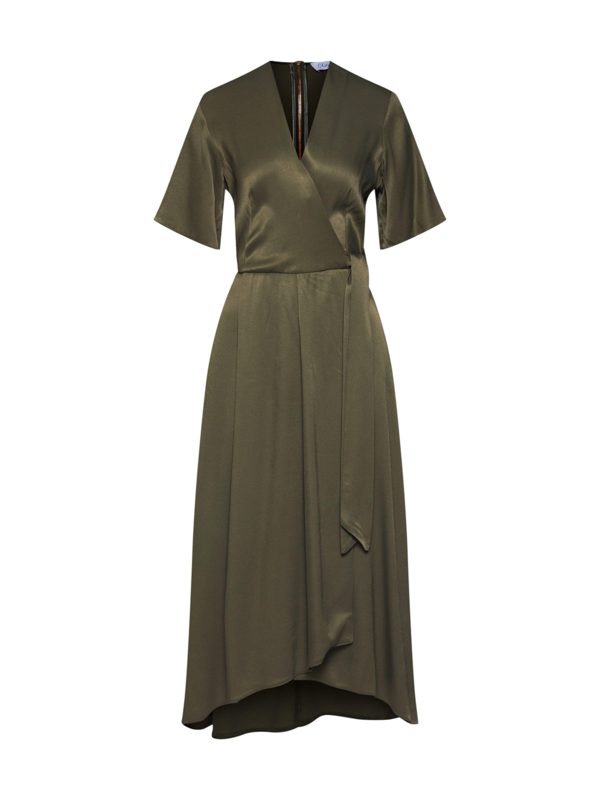 En Robe Pleated Dress' Wrap Closet London D'été 'closet Kaki rdCxBtshQ