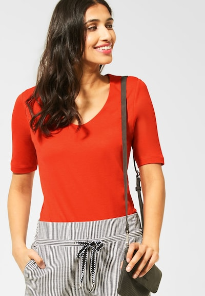 STREET ONE Shirt in rot: Frontalansicht