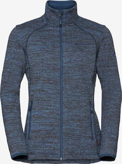 VAUDE Jacke 'Rienza Jacket II' in rauchblau / dunkelgrau, Produktansicht