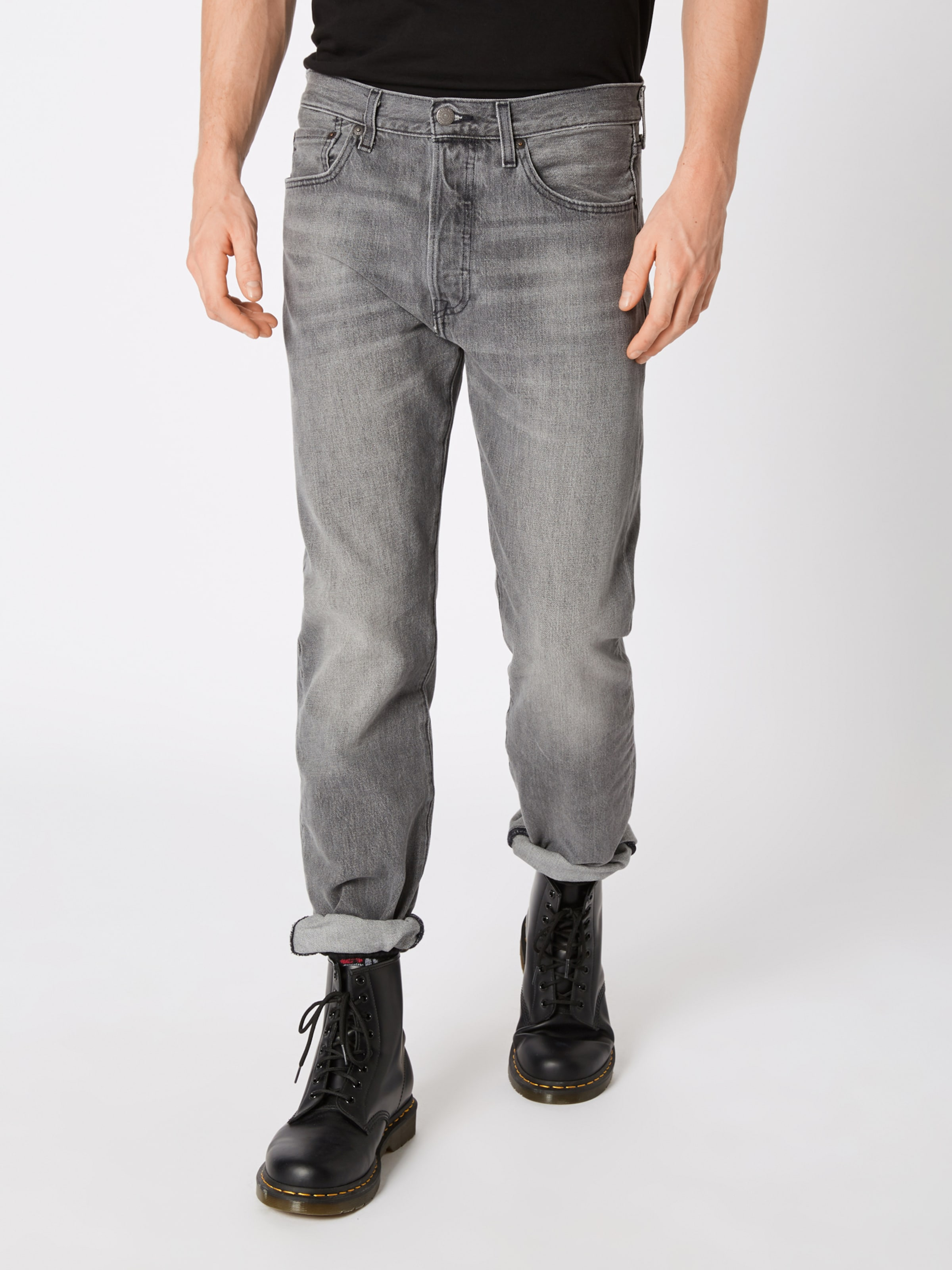 Levi's '501 Fit' Jeans Grey In Denim Original 76vfgYyb