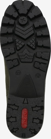 RIEKER Boots in de kleur Olijfgroen: Onderaanzicht