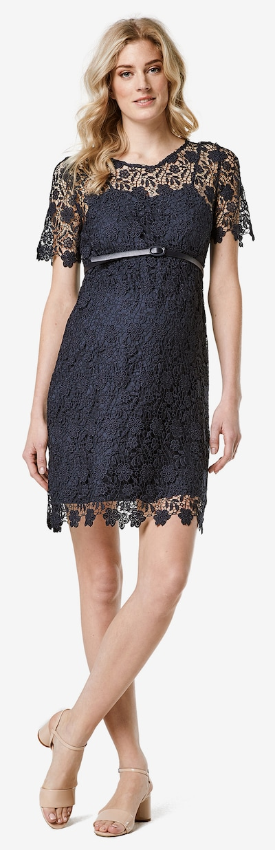 Esprit Maternity Kleid in nachtblau, Modelansicht