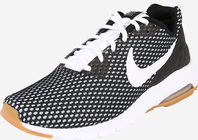 Nike Sportswear Sneaker 'Air Max Motion' in schwarz / weiß: Frontalansicht