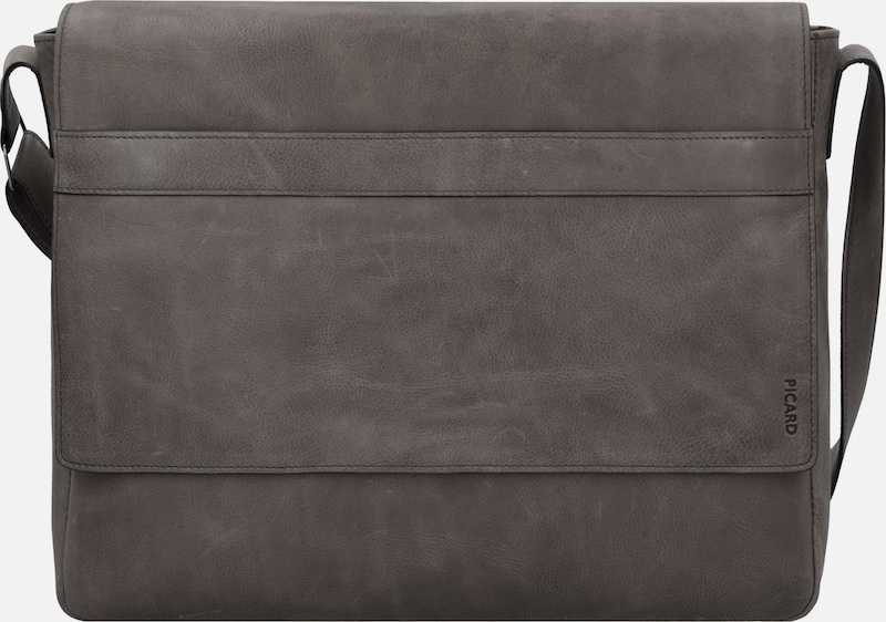 Picard 'Enzo' Umhängetasche Leder 40 cm Laptopfach