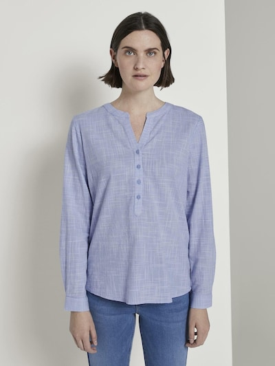 TOM TAILOR Bluse in blau, Modelansicht