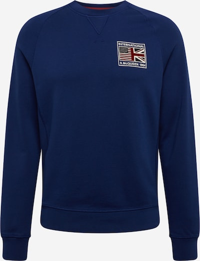 Barbour International Sweat-shirt en bleu, Vue avec produit