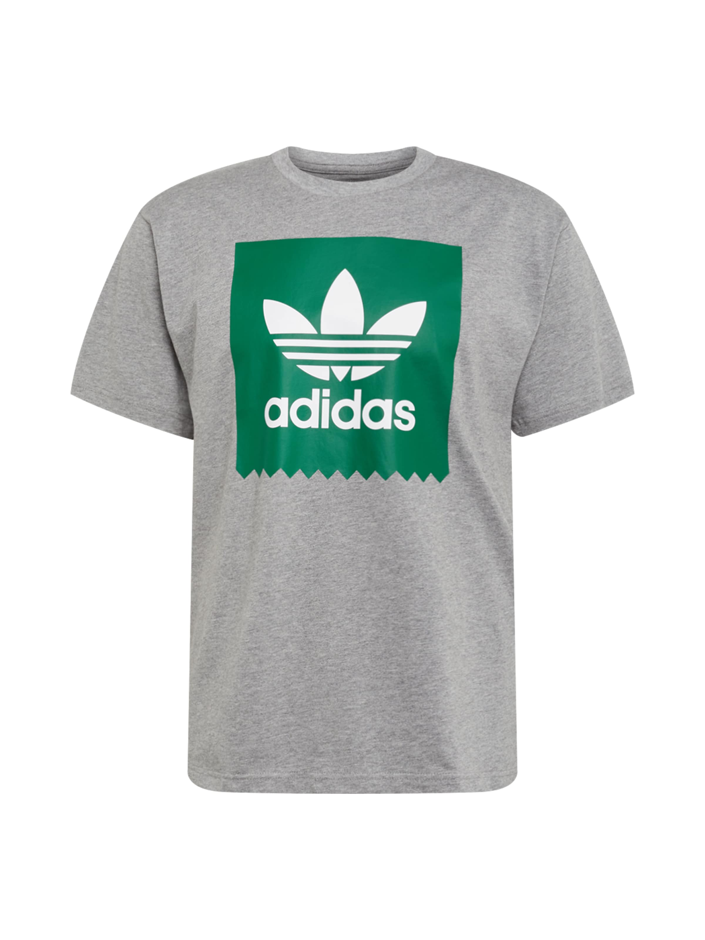 Adidas Originals GrauGrün In T 'solid shirt Bb' WrECxeQdBo