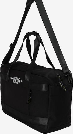 Savaitgalio krepšys 'URBHANITY' iš DIESEL , spalva - juoda: Vaizdas iš šono