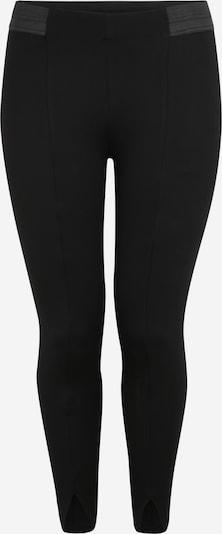 Zizzi Leggings en noir, Vue avec produit