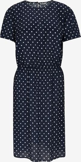 SEIDENSTICKER Kleid in dunkelblau / weiß, Produktansicht