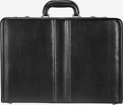 Dermata Aktenkoffer in de kleur Zwart, Productweergave