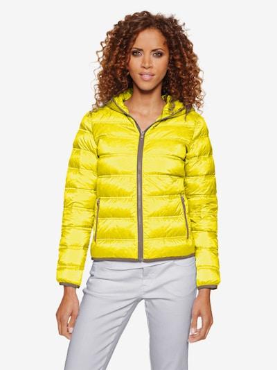 Linea Tesini by heine Zimska jakna u žuta: Prednji pogled