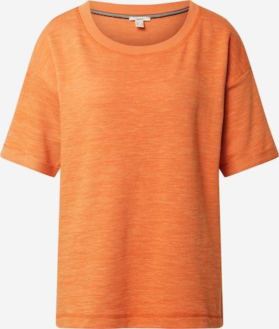 ESPRIT Shirt 'Terry' in orange, Produktansicht