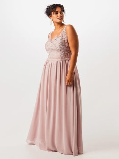 My Mascara Curves Abendkleid 'SCALLOP LACE' in rosé, Modelansicht